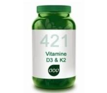 AOV 421 Vitamine D3 & K2 (60vcap)