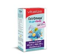 VITALIZE PROD Extromega kindervisolie (60cap)
