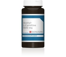 BONUSAN Acetyl L carnitine 500 (60vc)