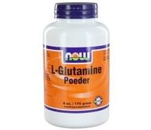 NOW L-Glutamine poeder (170g)
