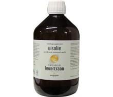 JACOB HOOY Levertraan/visolie vitamine A & D (500ml)