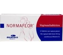 NORMAFLOR Vaginale tabletten (12st)