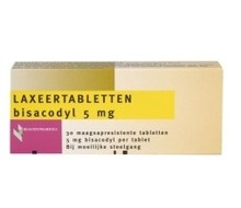 HEALTHYPHARM Laxeer bisacodylum 5mg (30tab)