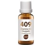 AOV 409 Vitamine D3 druppels 25mcg (15ml)