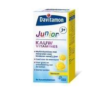 DAVITAMON Junior 3+ banaan (60ktab)