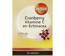 ROTER Blaas vitamine C + cranberry en echinacea (30tab)