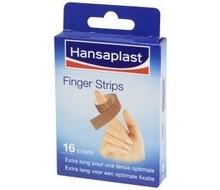 HANSAPLAST Vingerpleister elastisch strips (16st)