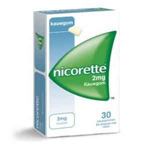 Johnson & Johnson Nicorette 2 mg classic kauwgom 105 st.