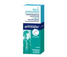 SAN Xylometazoline neusdruppels vanaf 6 jaar (1,0 mg) 10ML