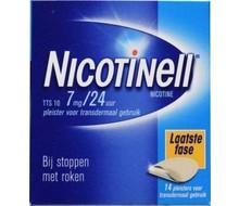 NOVARTIS Nicotinell pleisters 7 mg 14st
