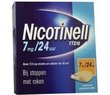 NOVARTIS Nicotinell pleisters 7 mg 7st