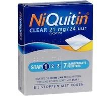 Niquitin Stap 1 21mg 7 pleisters