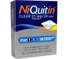 Niquitin Stap 1 21mg 14 pleisters