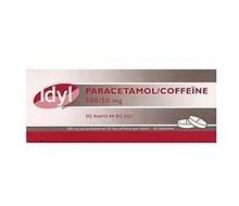 IDYL Paracetamol 500mg met coffeine (40st)