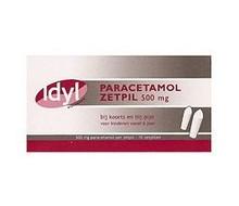 IDYL Paracetamol 500mg zetpil (10st)