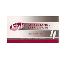 IDYL Paracetamol 1000mg zetpil (5st)