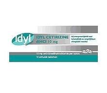 IDYL Cetirizine 10mg (30st)