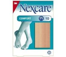 NEXCARE Comfort strips huidkleur 6 x 10 cm (10st)