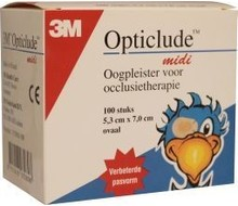 OPTICLUDE Oogpleister midi (100st)