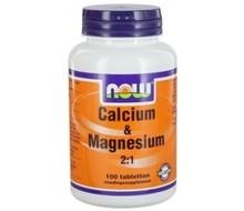 NOW Calcium magnesium 500/250mg (100tab)