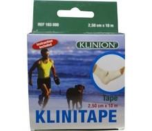 KLINISPORT Klinisport PL windsel 10MX2.5CM (10x2.5)