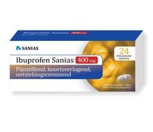 SANIAS Ibuprofen 400 mg (24st)