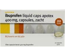 APOTEX Ibuprofen 400 mg liquid (20cap)