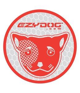 EzyDog Sticker rond silver