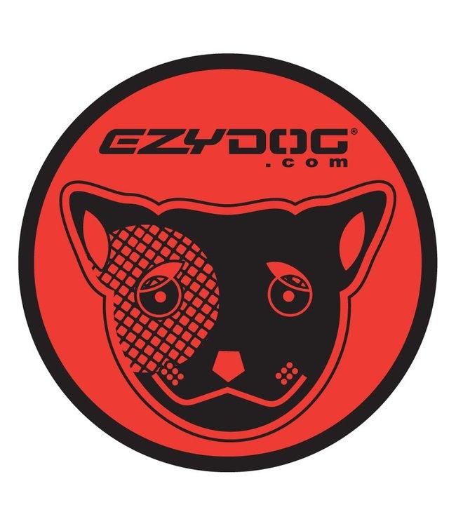 EzyDog Sticker round red