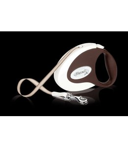 Flexi Collection Coffee - Tape Leash