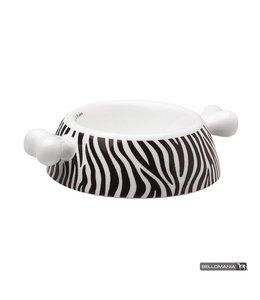 "Bellomania Bellomania hondenvoerbak Atrium Zebra ""Limited Edition"""