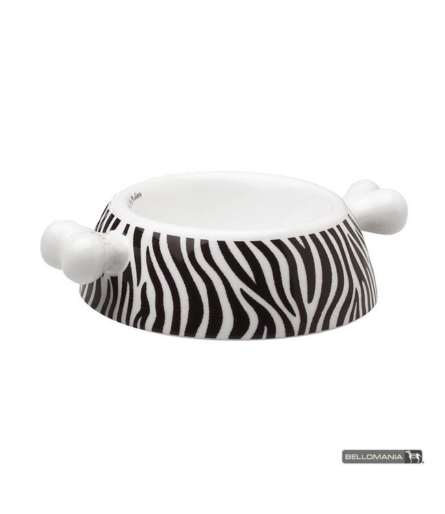 "Bellomania Bellomania hondenvoerbak Atrium Zebra ""Limited Edition"""