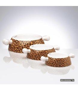 "Bellomania Bellomania dog food bowl from porcelain Atrium Leo ""Limited Edition"""