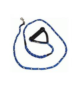 EzyDog EzyDog CUJO hondenlijn, blauw, 12mm x 180cm