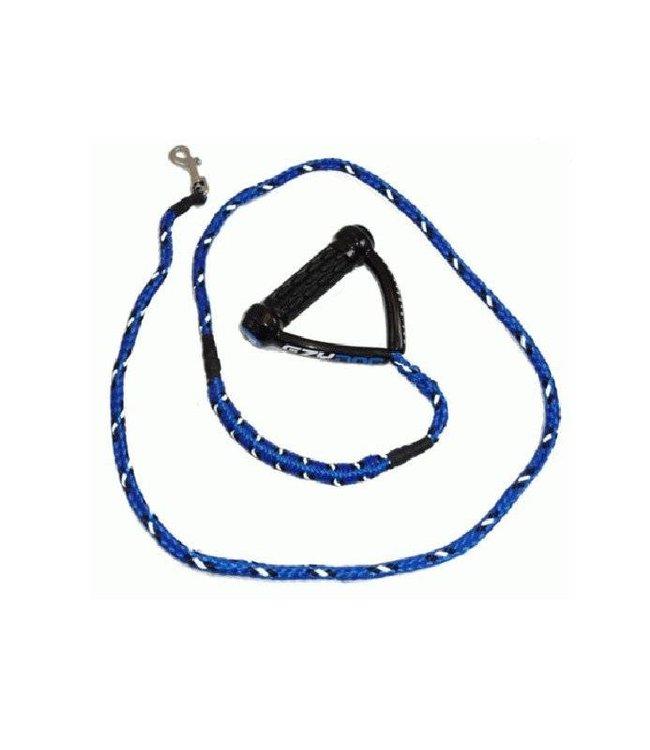 EzyDog CUJO hondenlijn, blauw, 12mm x 180cm