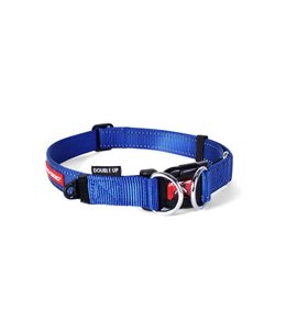EzyDog Double Up collar, blue