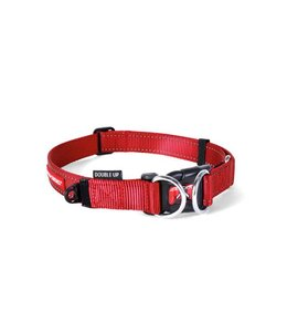 EzyDog Double Up collar, red