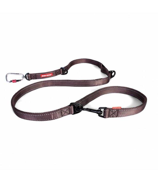 EzyDog EzyDog vario 6 adjustable leash with carbine, brown