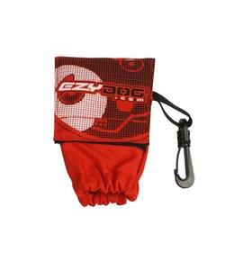 EzyDog DooBag Pickup Bag Holder, red