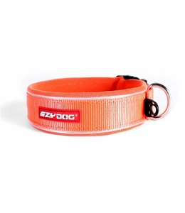 EzyDog brede neo halsband, oranje