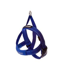 EzyDog QuickFit harness, blue