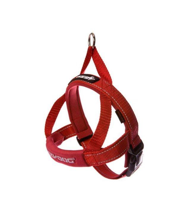 EzyDog EzyDog QuickFit Harness, red