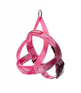 EzyDog QuickFit Harness, pink camo