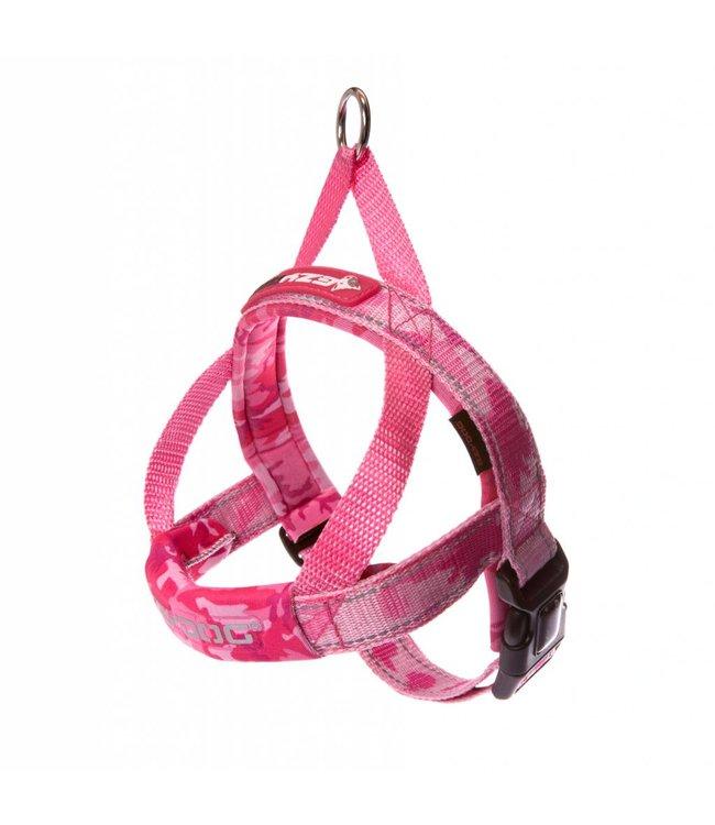 EzyDog EzyDog QuickFit Harness, pink camo