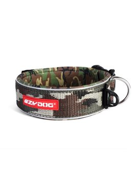 EzyDog neo collar wide, green camo