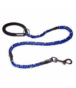 """EzyDog Mutley Shock Absorbing Dog Leash 40"""" 102 cm, blue"""