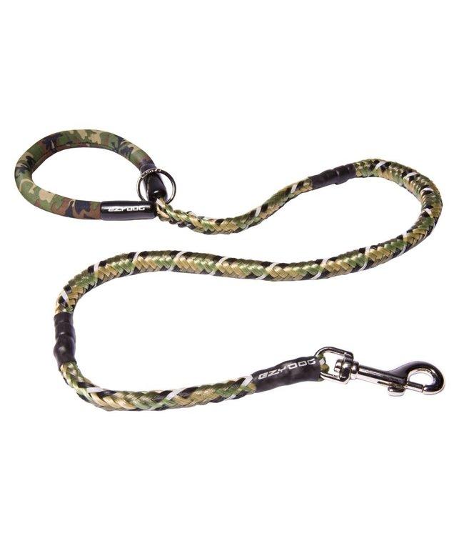"""EzyDog EzyDog Mutley Shock Absorbing Dog Leash 40"""" 102cm - green camouflage"""