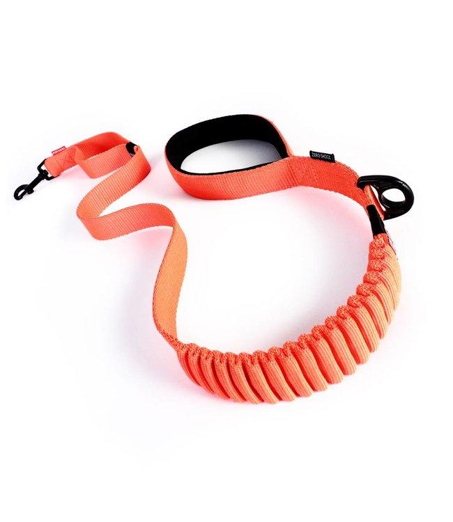 """EzyDog EzyDog Zero Shock elastic dog leash 48 """"120cm - Orange"""