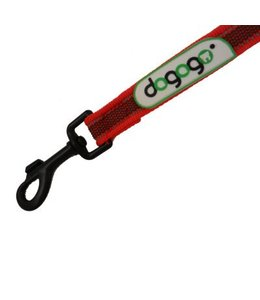Dogogo Antislip leash with loop in diff. lengths and widths, red