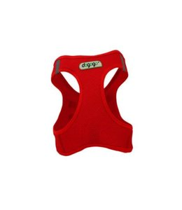 Dogogo Air Mesh harness, red